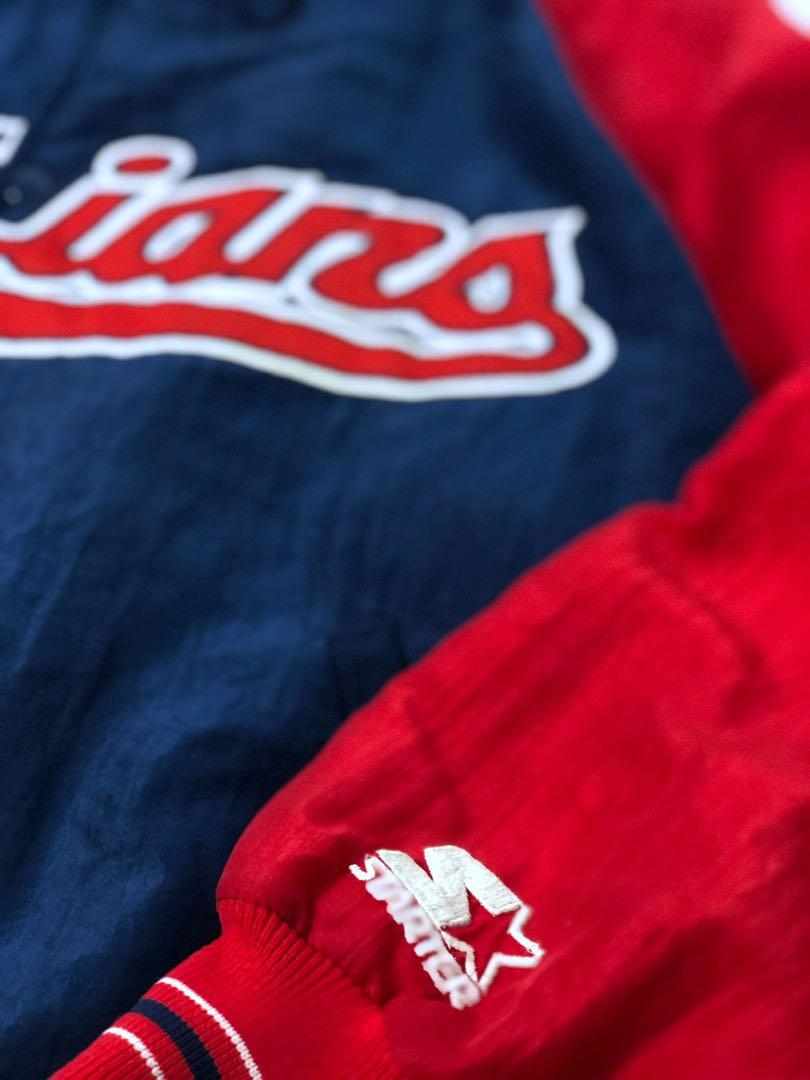 3039 vintage 90s starter Cleveland Indians made in USA 🇺🇸