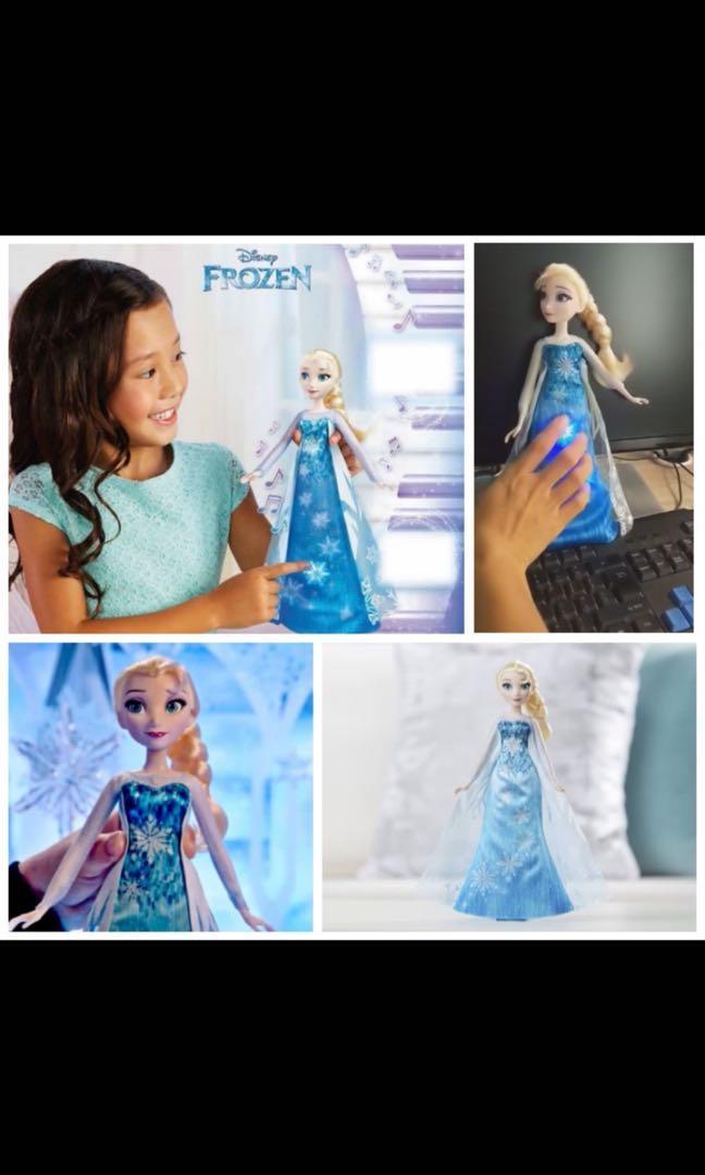 【彈琴音樂 Elsa 公主】
