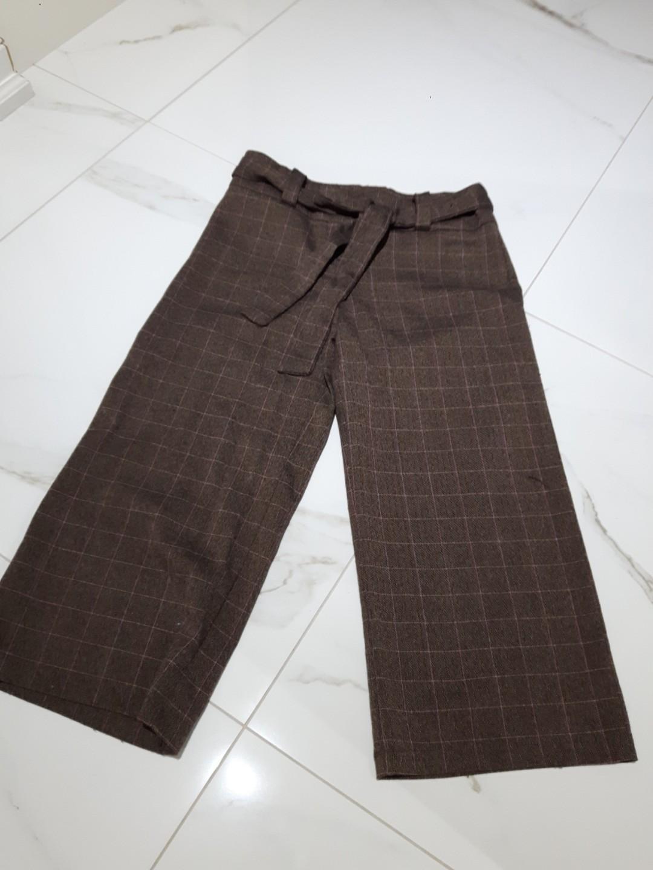 (Almost) Vintage Mid Waist Crop Pants with Waist Tie size 7 Waist