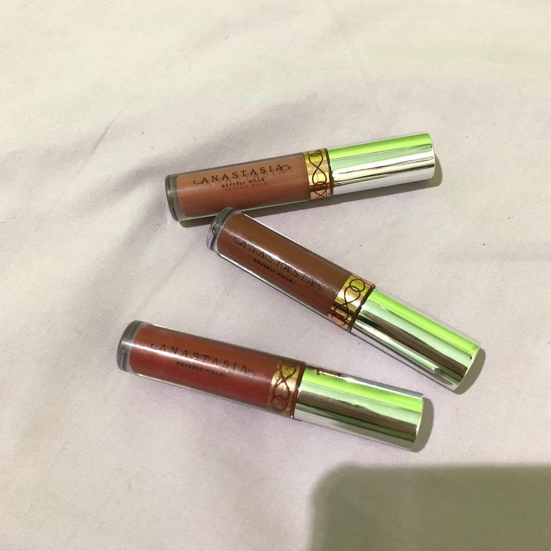 Anastasia Beverly Hills Mini Liquid Lipstick Set (yang dijual hanya yg brown saja!)