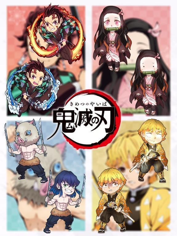 Anime keychains: Tanjiro (Demon Slayer: Kimetsu No Yaiba)