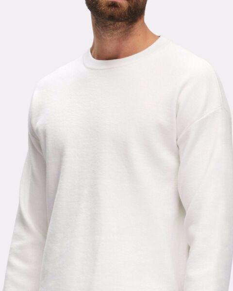 aquila mens white jumper - new without tags - RRP $169