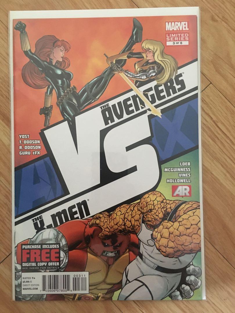 ☺️ ( 5 comics ) Avengers VS X-Men Limited Series # 1  - 5  (all unopened, unread)