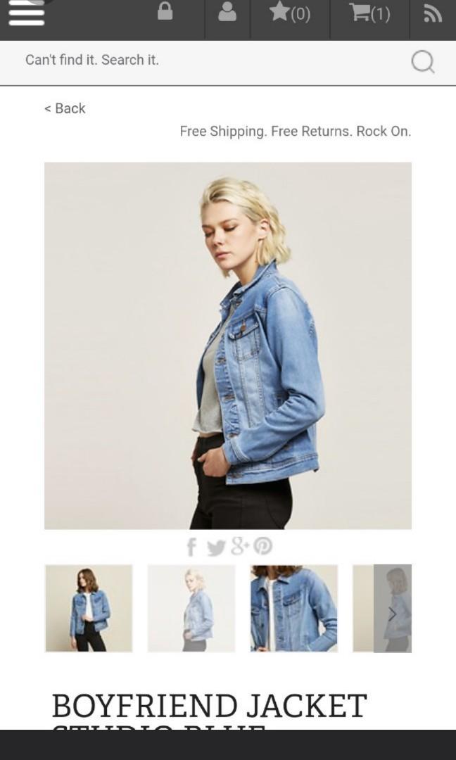 BNWT Lee Studio Blue Denim Jacket 10 (best fits 6-10)