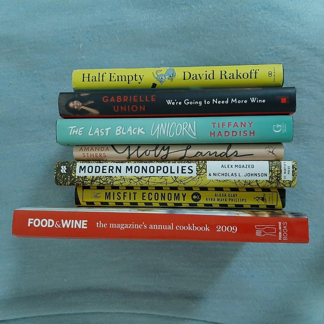 BRAND NEW Hardcover Nonfiction Books (business, finance, religion, cooking, comedy, memoir, Hollywood)