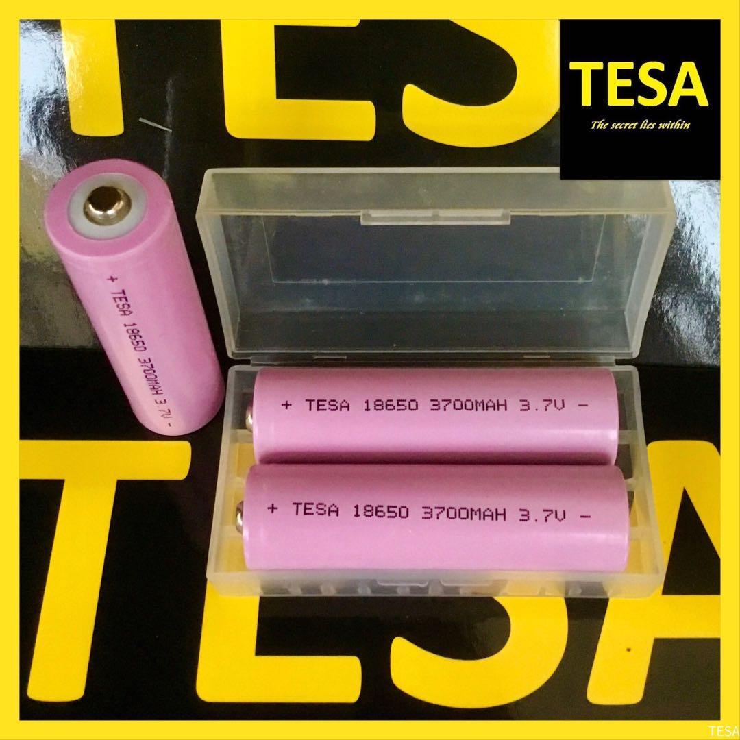 BUTTON TOP 18650 battery