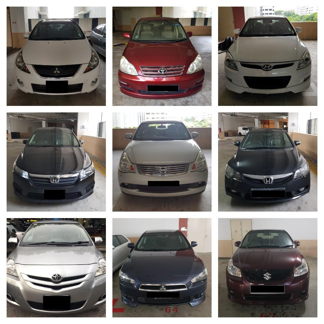CAR RENTAL NO DEPOSIT WEEKDAY PACKAGE *P PLATE WELCOME* (Yishun)