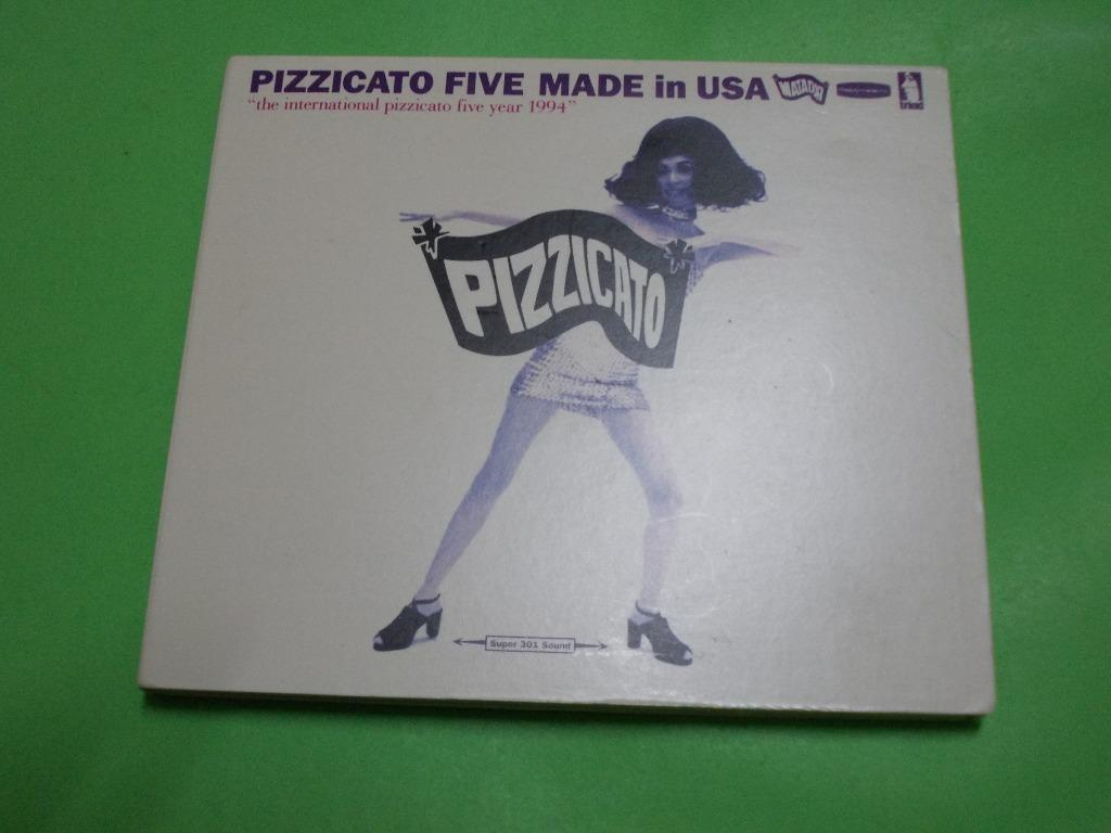 CD PIZZICATO FIVE : MADE IN USA ALBUM (1994, COMPILATION) SHIBUYA-KEI J-POP