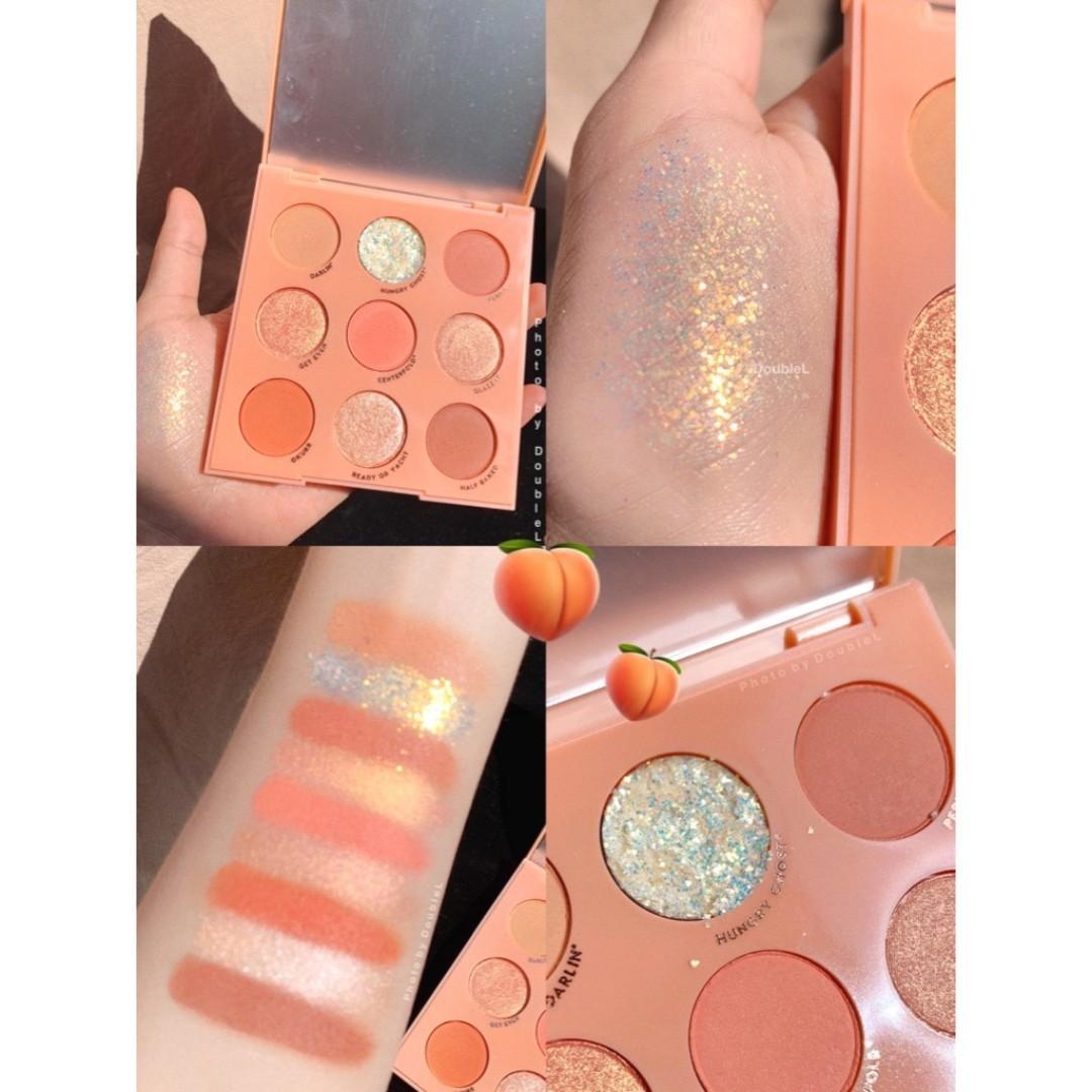 Colourpop Baby Got Peach 🍑🌟✨眼影盤