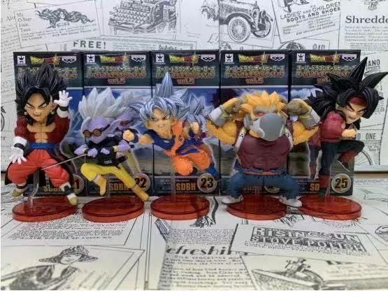 Dragon ball GT, SUPER mini size 8-9cm action figure