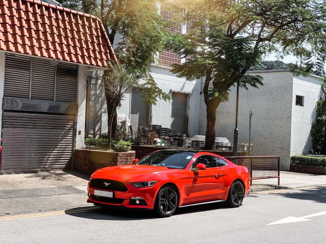 FORD mustang 2.3 2016