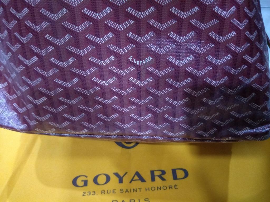 GOYARD Saint Louis Tote Bag