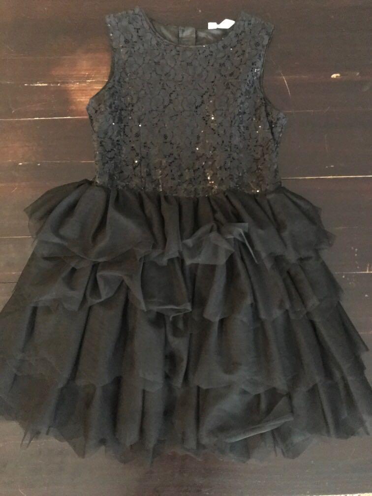 H & M Tutu Dress Balck