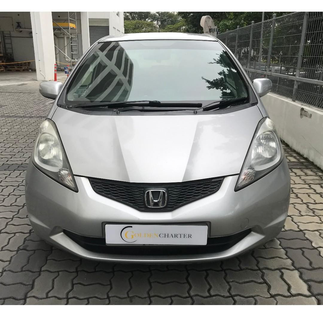 Honda Fit For Rent , Weekly Rental Rebate with gojek. Personal and PHV ready.