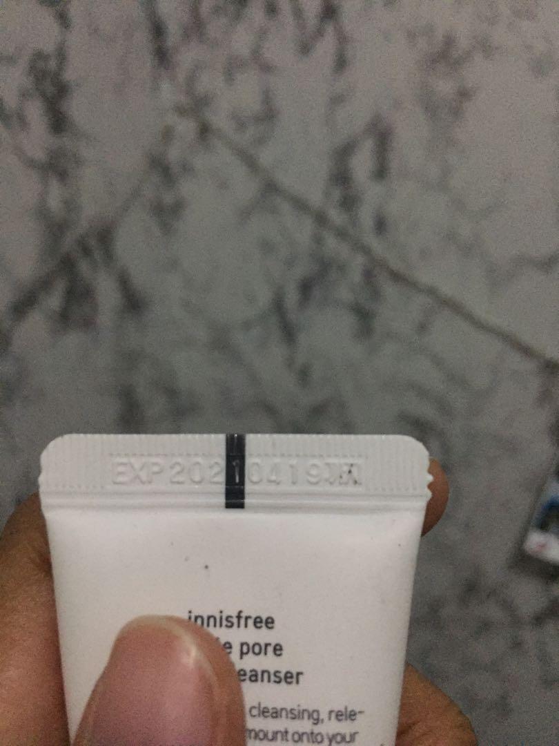 Innisfree white pore starter kit