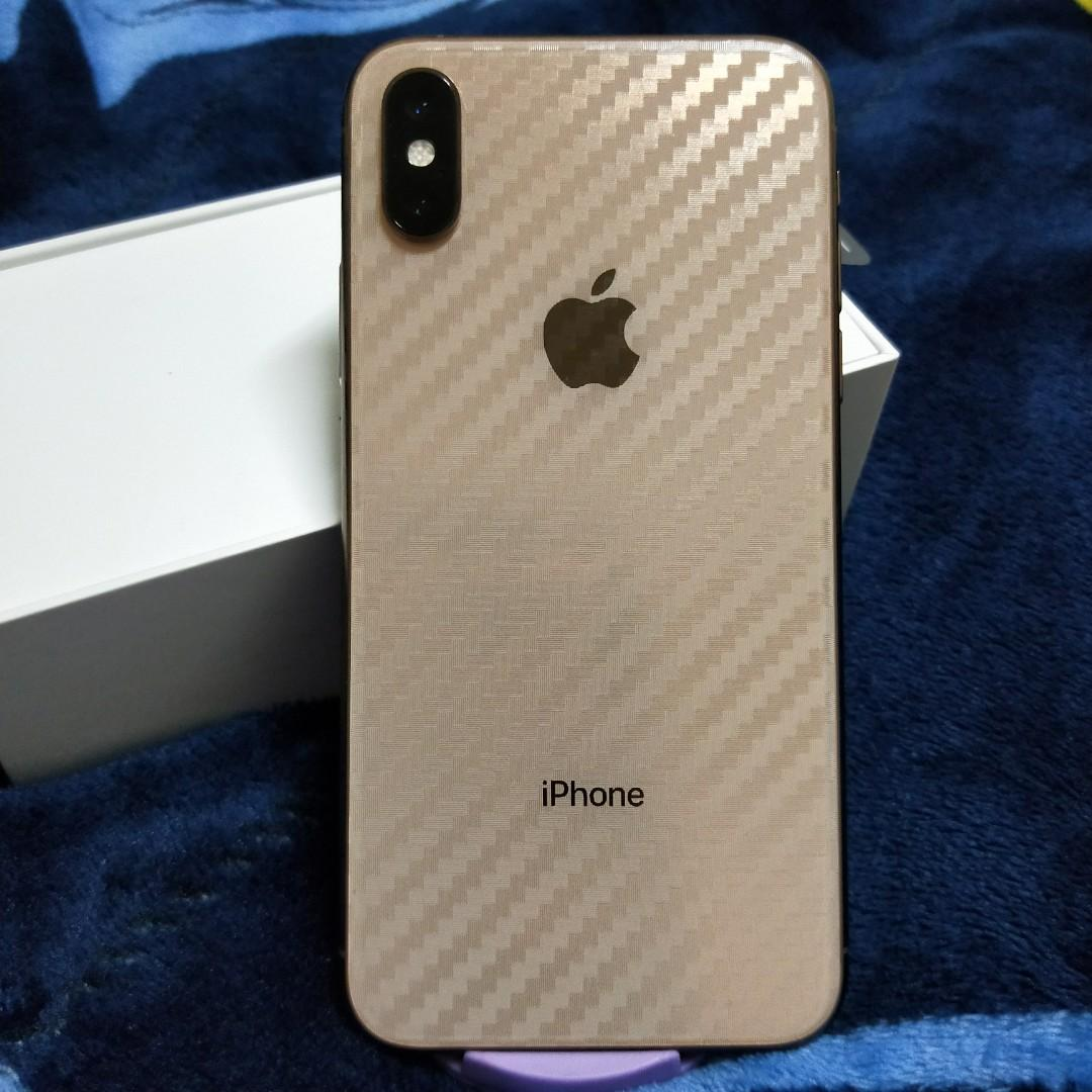 iPhone Xs 256G 金色 二手機