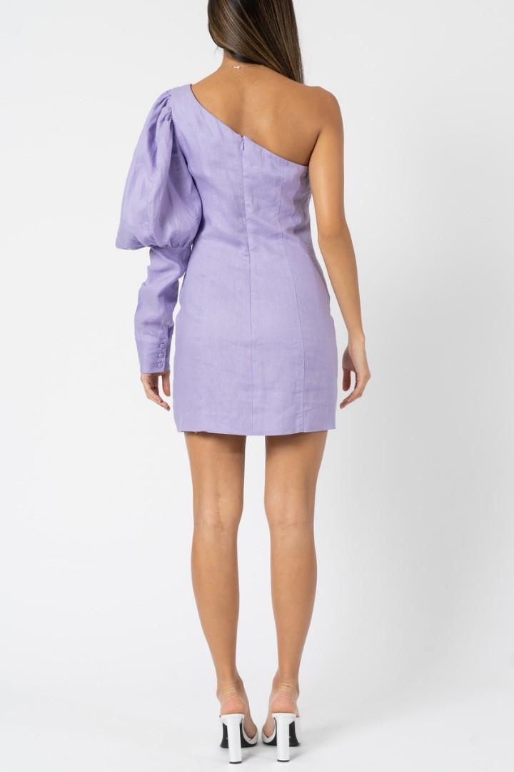 Joslin Studio Cecil Linen Mini Dress - Size 10 RRP $329