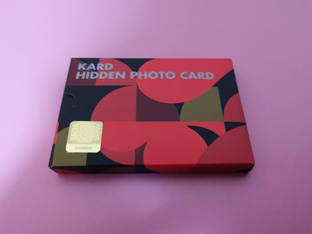 KARD 2019 1ST HIDDEN KARD FANSHIP (OFFICIAL FANCLUB KIT)