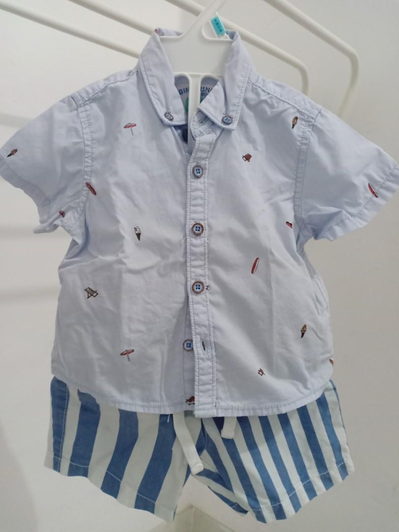 Kemeja dan celana bayi