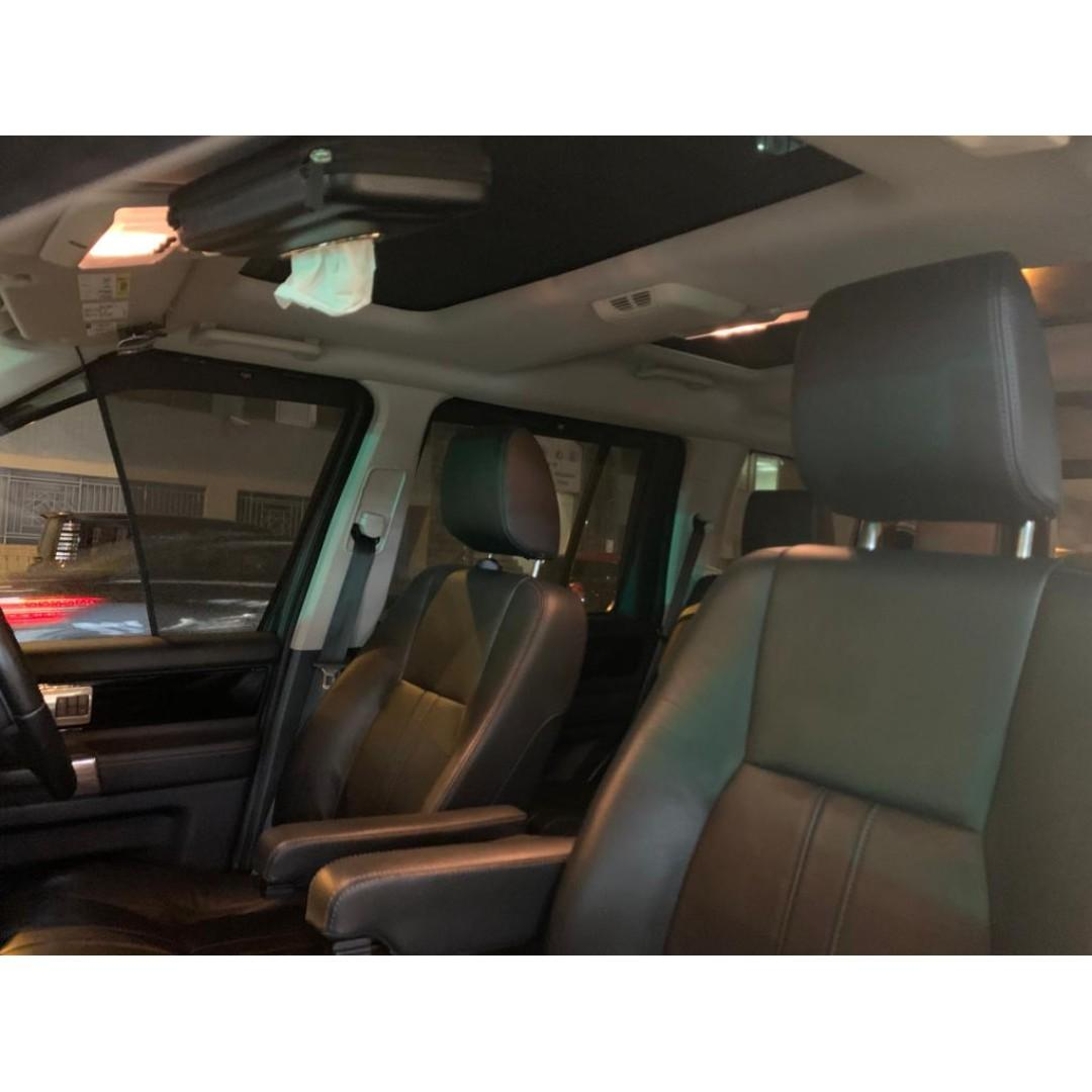 LAND ROVER DISCOVERY 4 5.0 2011