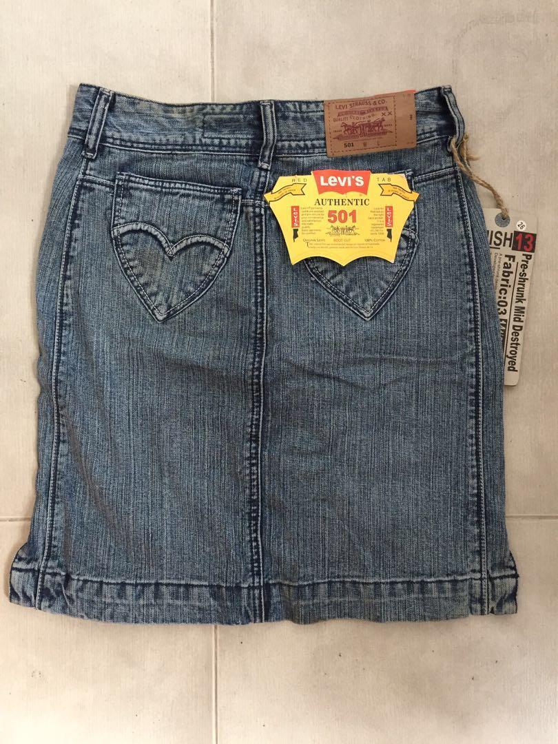 Levi's 501 denim skirt 牛仔裙
