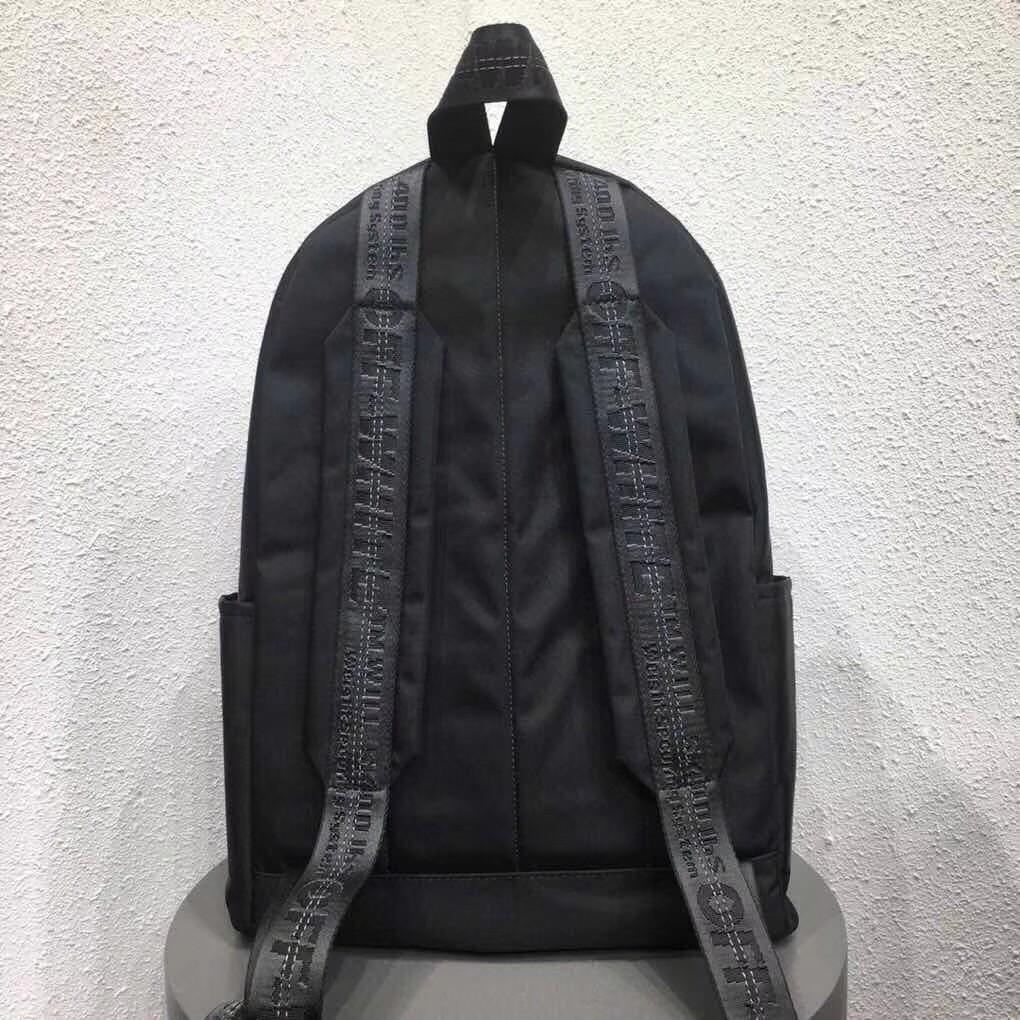 OFF-WHITE 1:1 C/O VIRGIL ABLOH Casual high-end backpack Notebook backpack