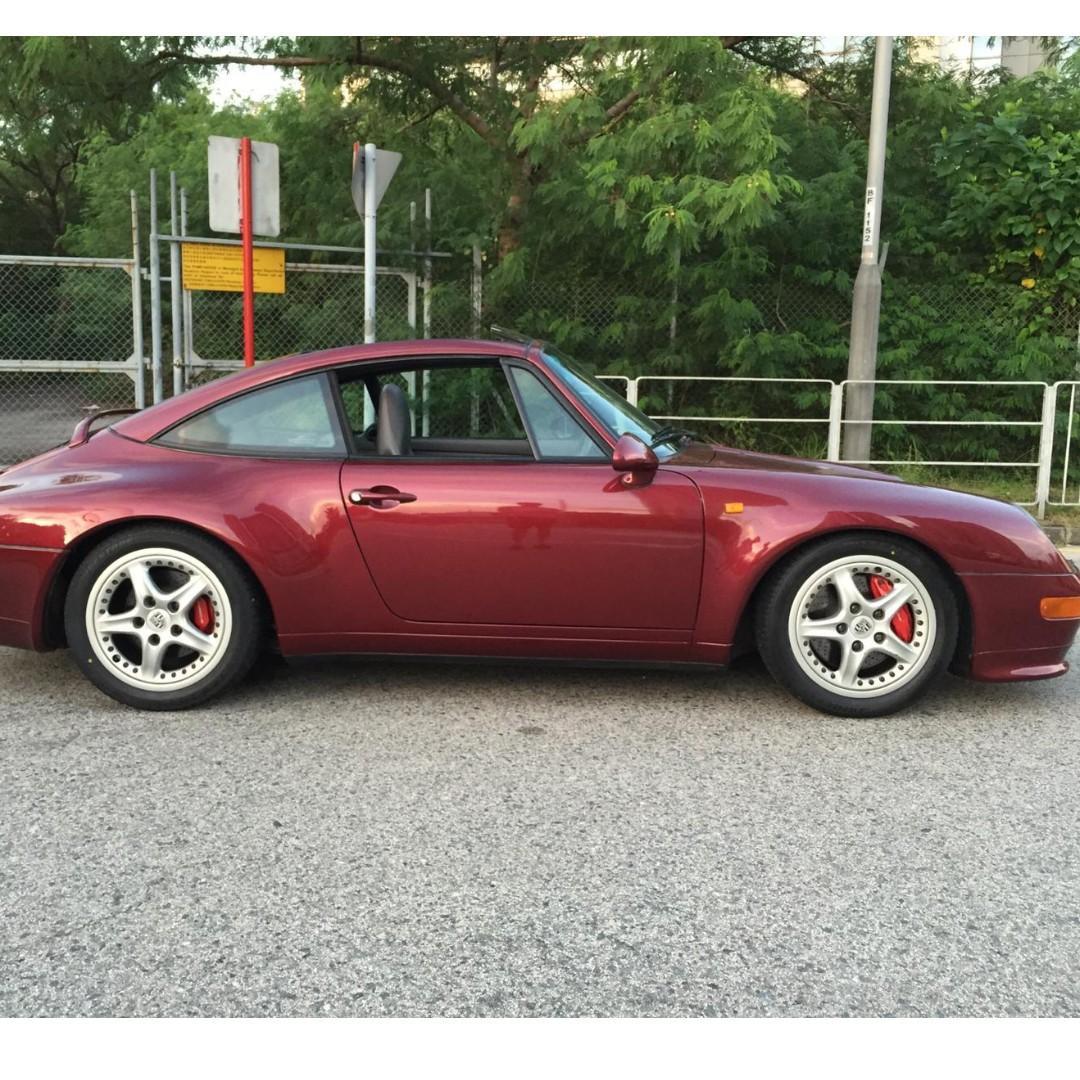 1997 Porsche 911 993 Targa