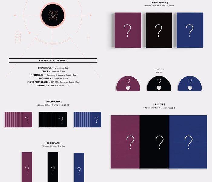 Pre Order #WJSN Mini Album [As you Wish] *choose ver (read description)