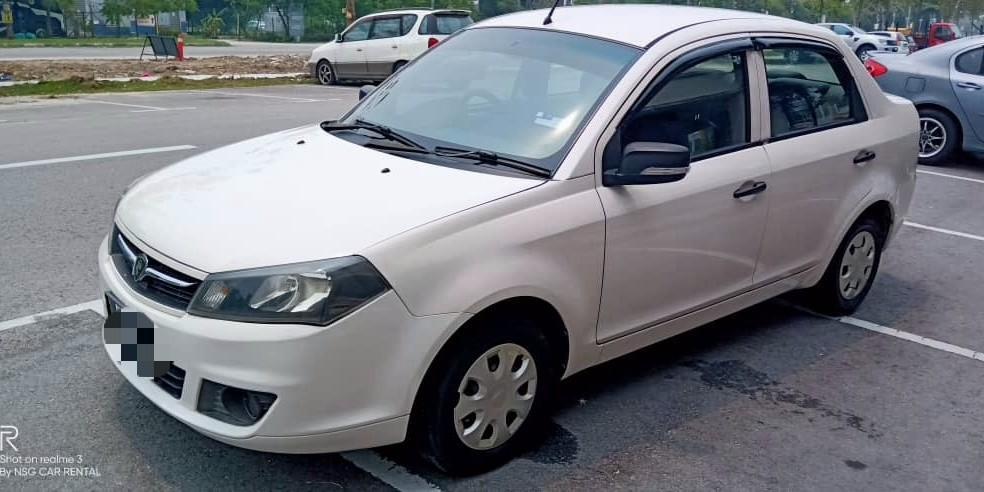 Proton Saga FLX 1.3 (A) Kereta Sewa Murah Selangor KL