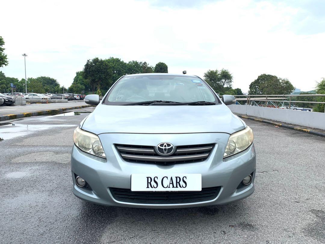 RENTAL: Toyota Altis