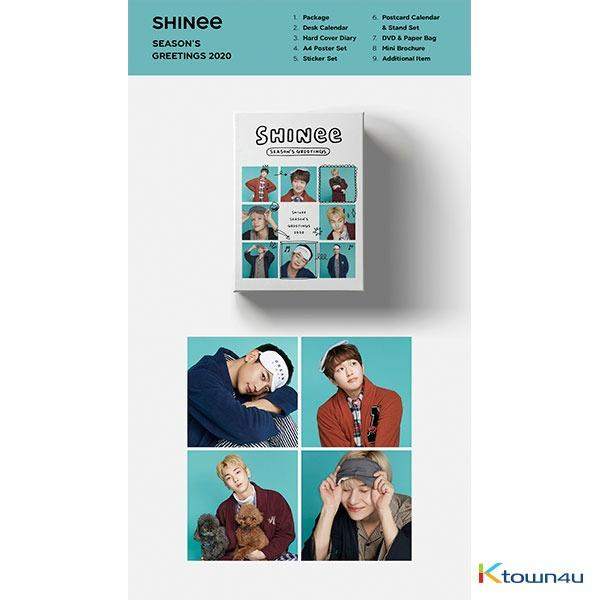 SM SEASON GREETING 2020 - TVXQ, SUPER JUNIOR, GIRLS GENERATION, SHINEE, EXO, RED VELVET, NCT 127, NCT DREAM & WAYV