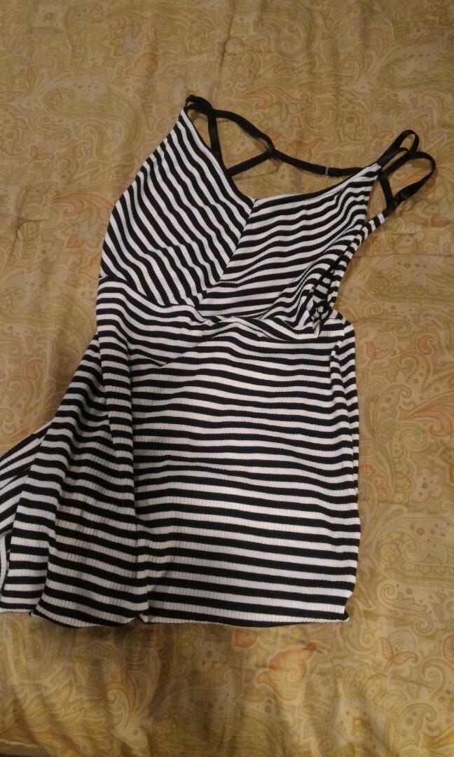 Striped XL dress nasty gal