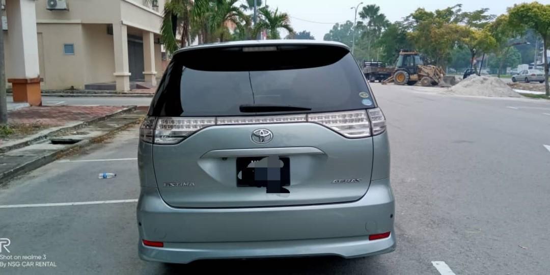 Toyota Estima Aeras 2.5 -MPV Sewa Murah