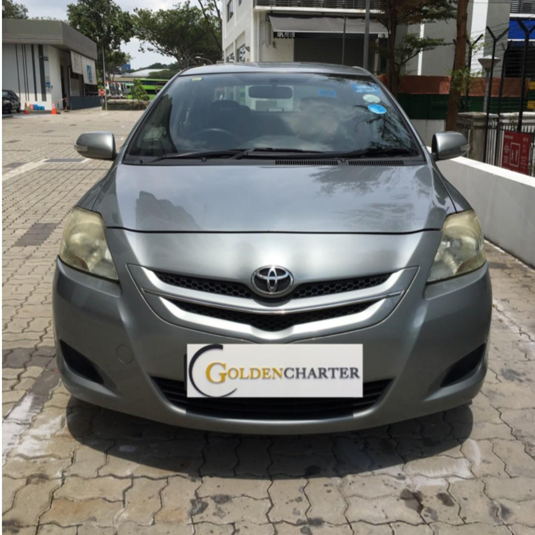 Toyota Vios For rent , PHV and Personal usage ready. weekly gojek rental rebate available