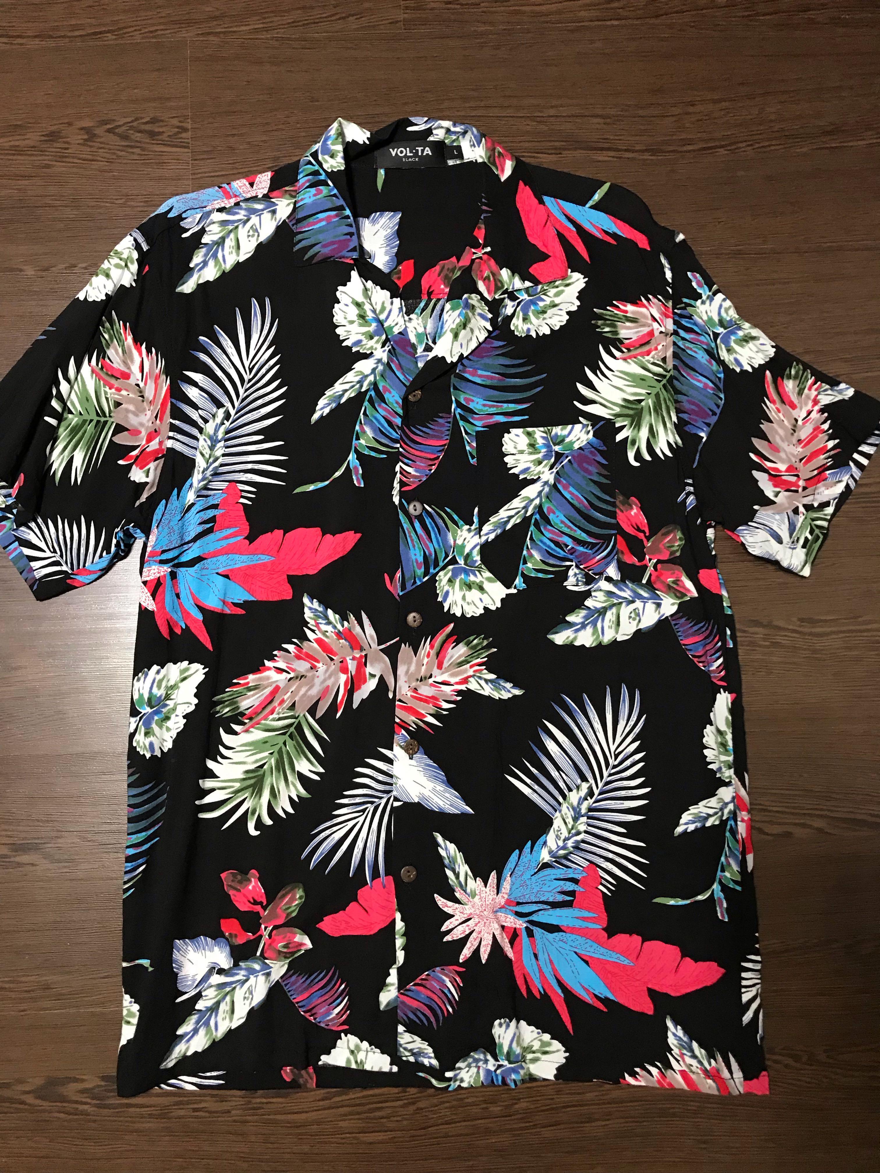 Volta floral shirt
