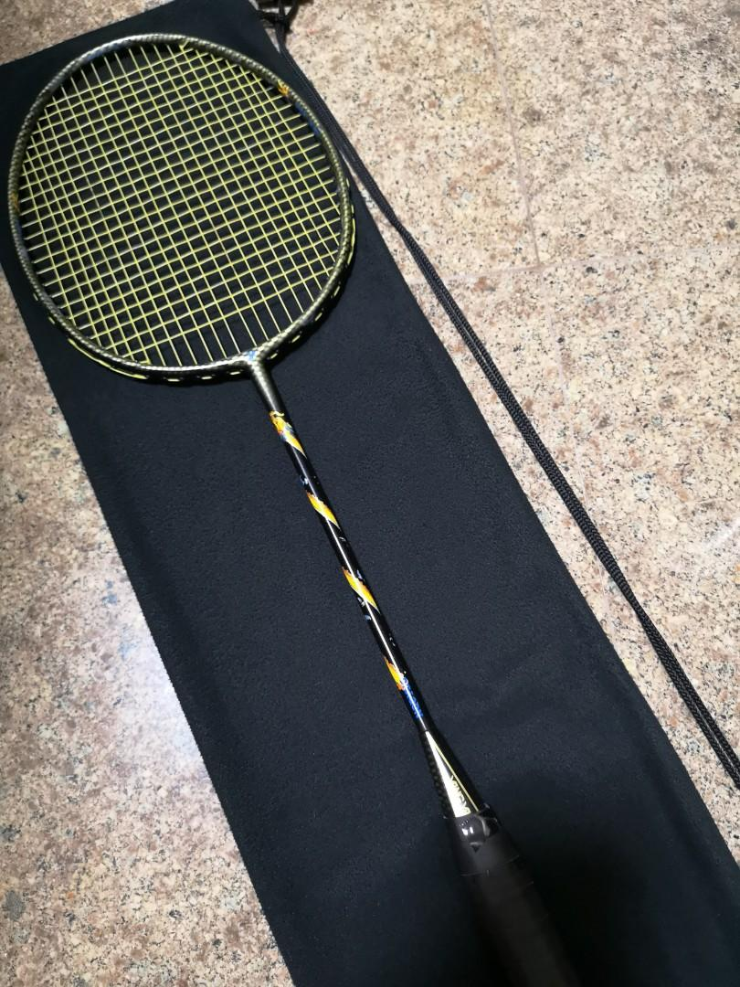 Yang Yang Dragon Badminton Racket Sports Sports Games Equipment On Carousell