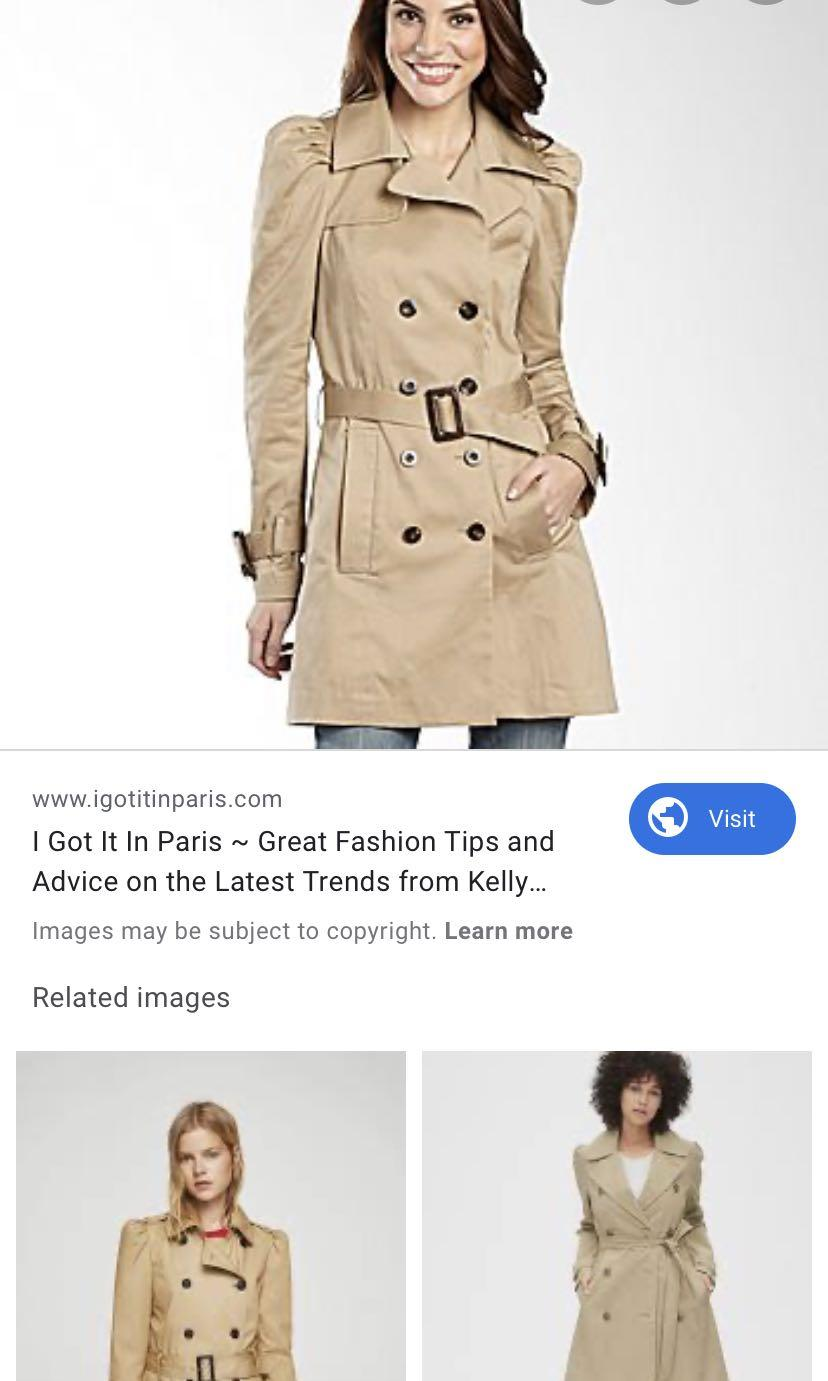 Zara trench coat (dry cleaned)