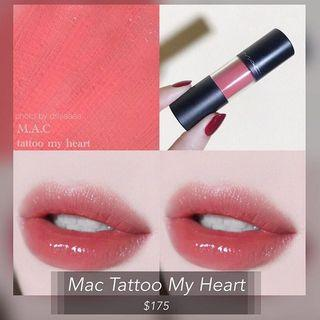 Mac 棒棒糖唇釉🍭