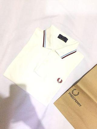 Authentic fred perry x westham united iconic poloshirt