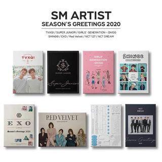[ MY G.O ] SM Artist Season's Greeting 2020