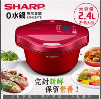 夏普0水鍋