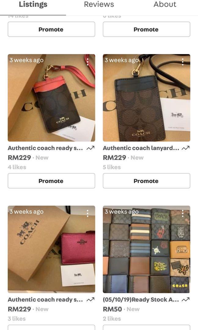 (02/11/19)Ready stock authentic coach women handbag dust bag Tory Burch waist belt bag backpack Michael kors mj card holder in