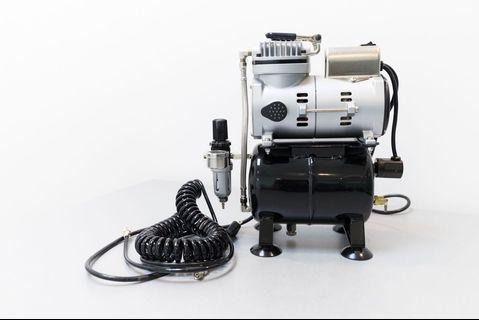 【SPARMAX】 漢弓 專業小型 無油 空壓機 TC-610 (九成新)