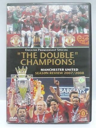 Manchester United The Double Champions Season Review 2007/08 DVD