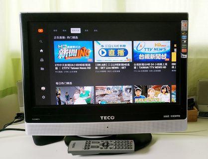 東元22吋液晶電視 TL2296TV
