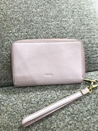 Fossil wallet baby pink
