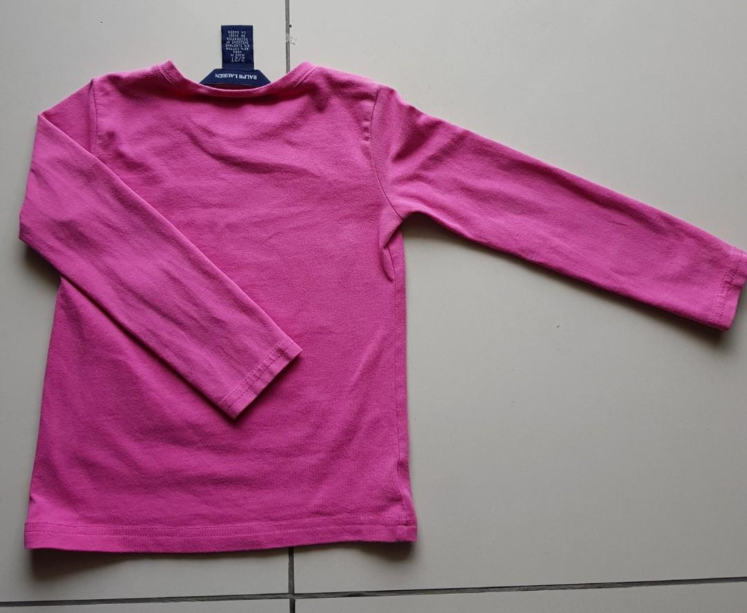 100% Original Ralph Lauren Long Sleeves Top