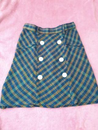 Mini Skirt / tartan skirt