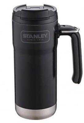 星巴克 STANLEY BLK不鏽鋼把手杯