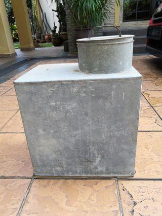Tong susu getah antik